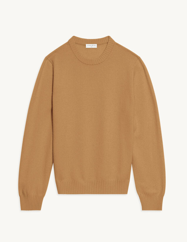 Cashmere Sweater : Sweaters & Cardigans color Camel