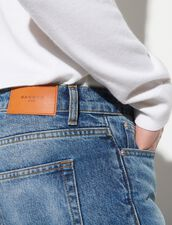 Faded Jeans : Jeans color Blue Vintage - Denim