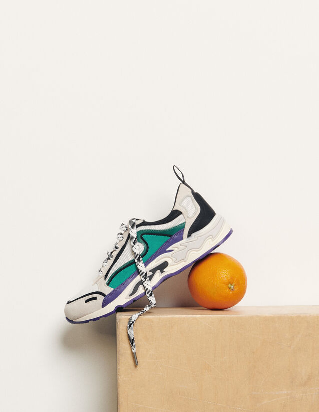 Flame Trainers : Trainers color Purple