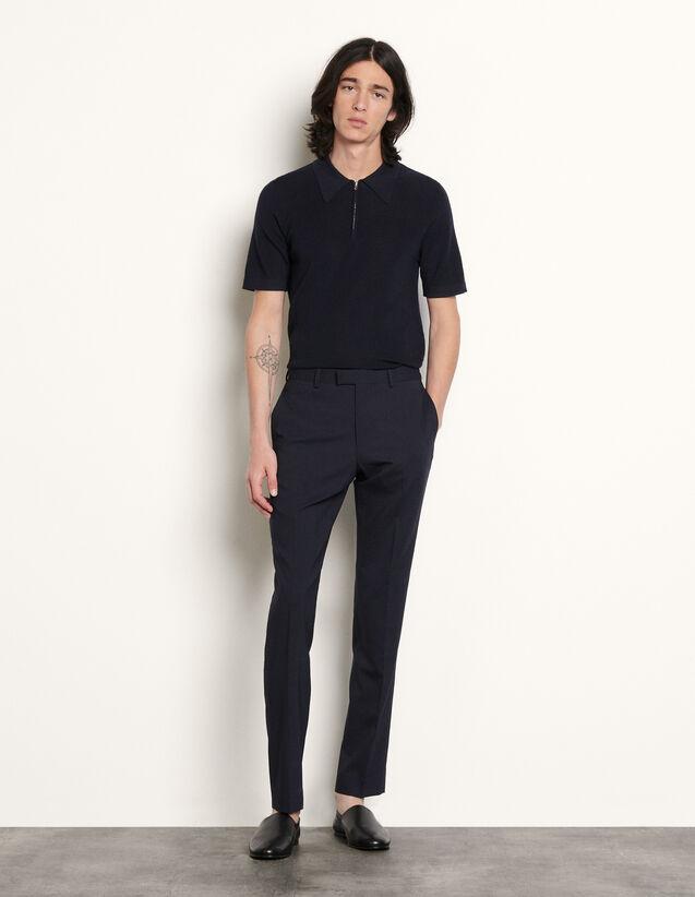 Knit Polo Shirt : T-shirts & Polo shirts color Ecru
