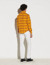 Checked Jacket : Suits & Tuxedos color Yellow