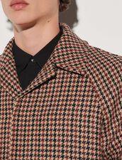 Herringbone Coat : Trench coats & Coats color Beige
