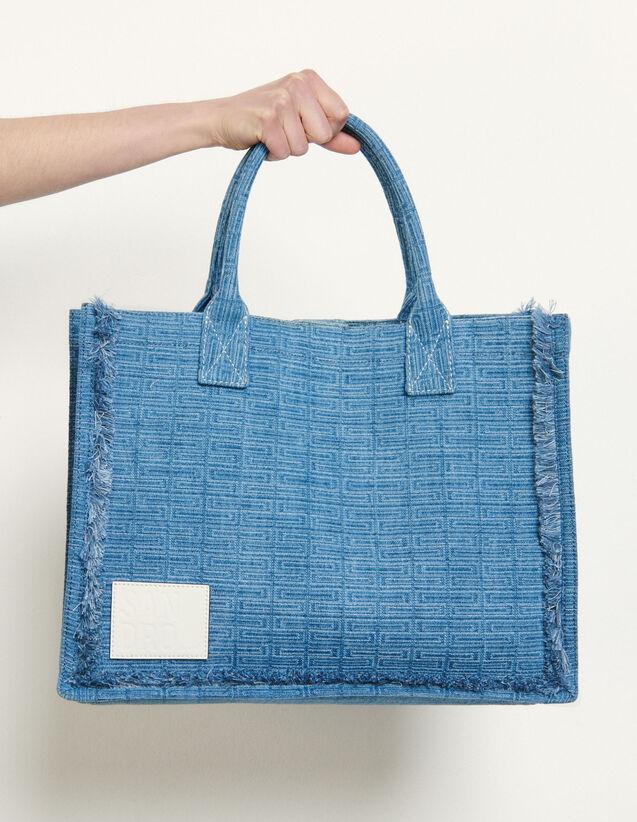 Denim Tote Bag : All Bags color Denim
