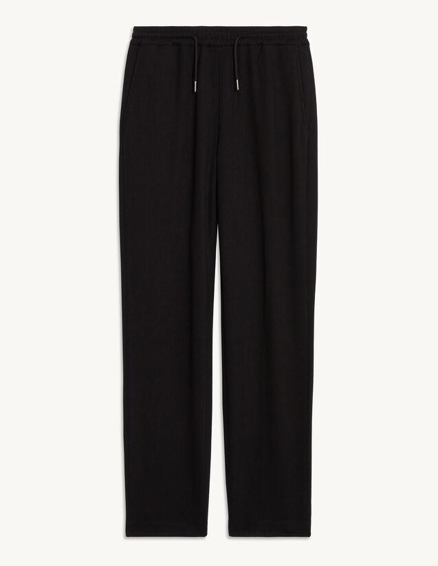 Jersey Jogging Bottoms : Pants & Shorts color Navy Blue