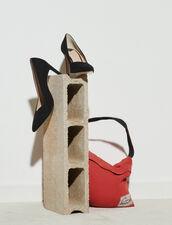 V-Cut Pumps : Pumps & Sandals color Black