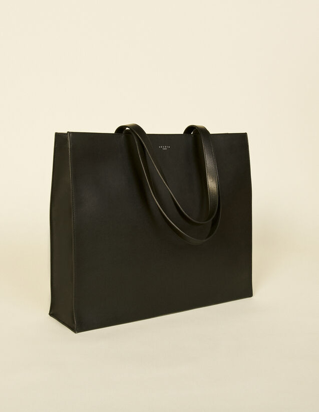 Leather Bag : Leather Goods color Black