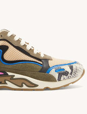 Flame Trainers : Trainers color Blue Grey