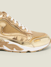 Flame Trainers : Trainers color Full Gold
