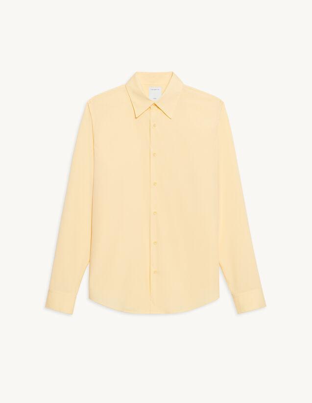 Cotton Shirt : Shirts color Yellow
