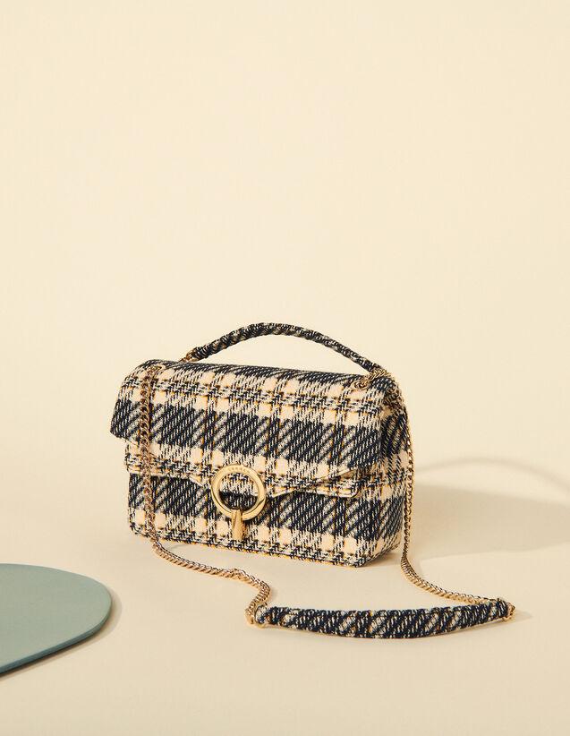 Yza Tweed Bag : My Yza bag color Navy Blue