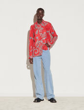 All-Over Print Shirt : Shirts color Red