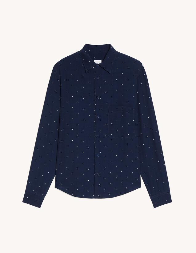 Polka dot shirt : Shirts color Ecru
