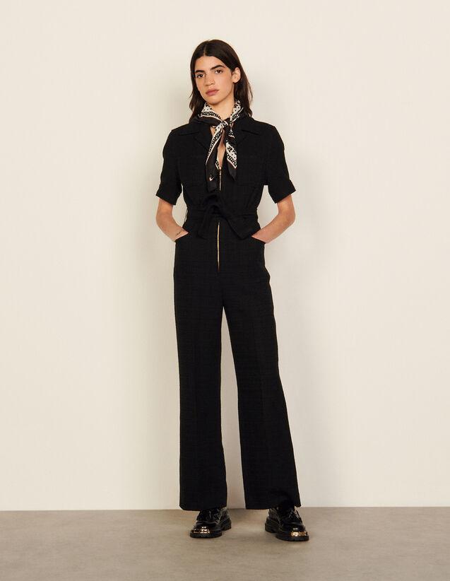 Organic Cotton Jumpsuit : Jumpsuits color Black
