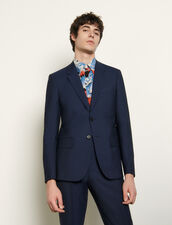 Cool Wool Suit Jacket : Suits & Tuxedos color Blue
