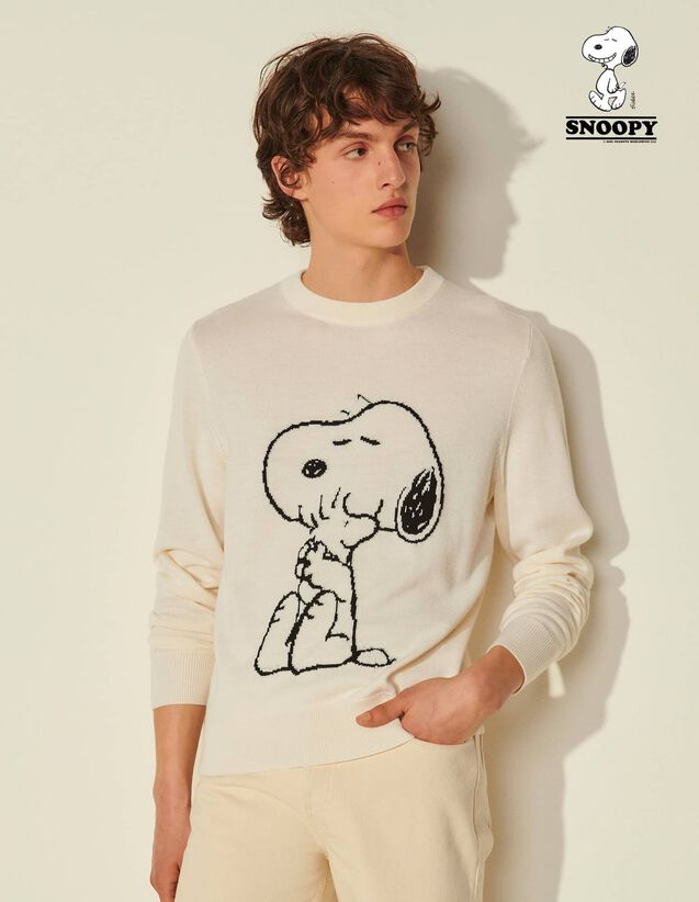 Snoopy Sweatshirt : Sweatshirts color Ecru