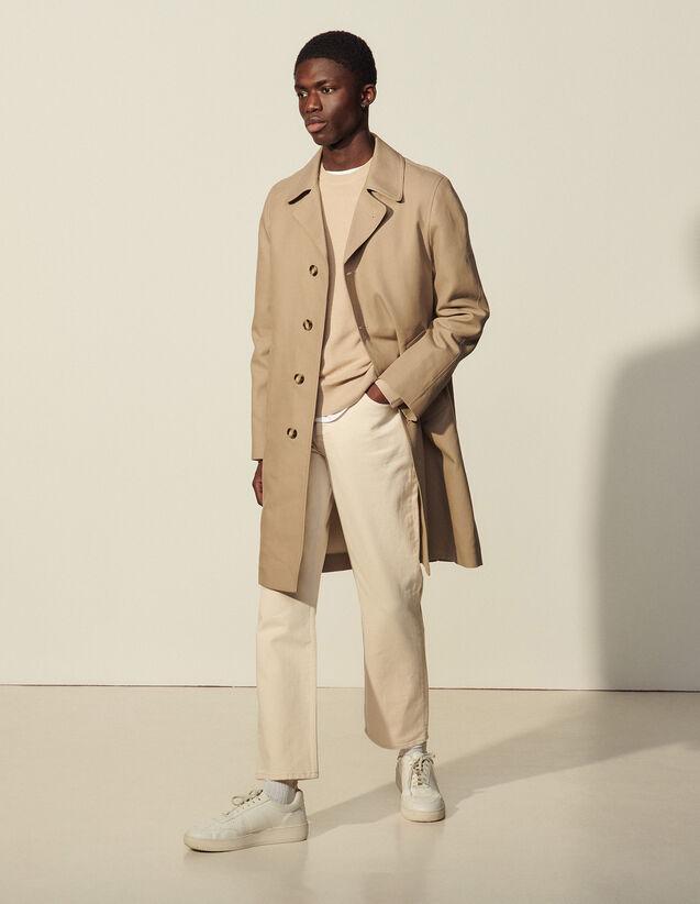 Classic Coat : Coats & Jackets color Beige