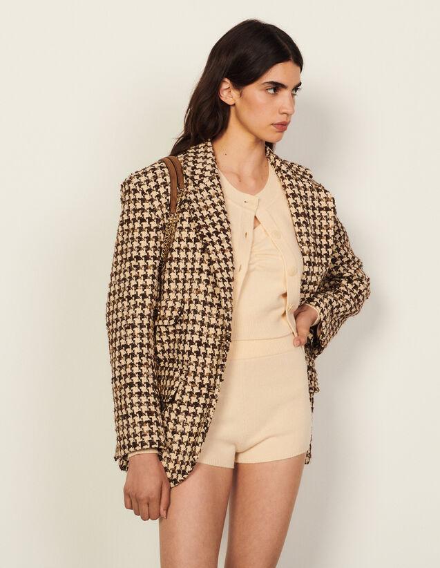 Wool Shorts : Skirts & Shorts color Vanilla