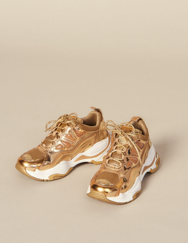 Astro Trainers : Trainers color Full Gold