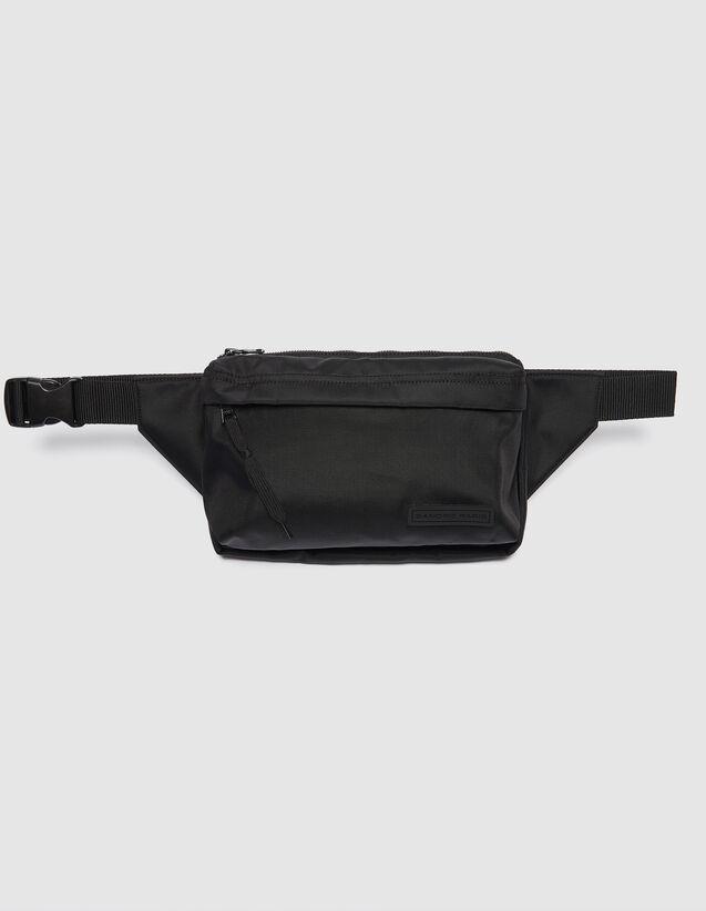 Crossbody Bag : Leather Goods color Black